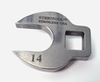 stainless steel crow's foot wrench